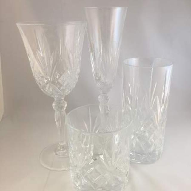 Melodia Glassware Pattern Rentals Raleigh Nc Where To